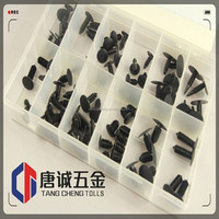 Assortment Kits 168PC Assorted Auto Trim Fasteners