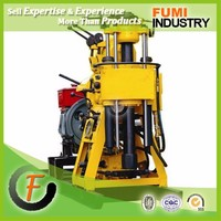 High Efficiency 200m Hydraulic Water Pump Drilling Michine Water Well Drilling Machine with Air Compressor