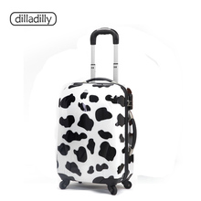 lightweight abs pc eminent trolley luggage colorful travel trolley luggage