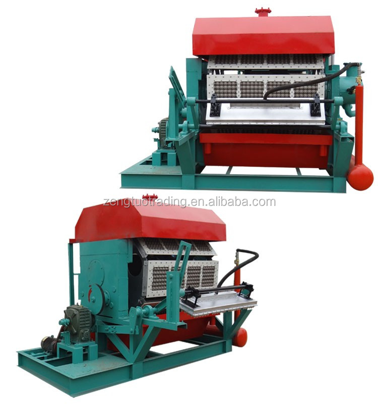 Recycled Paper Pulp Molded Reciprocating Type Egg Box Machine with 110-460V