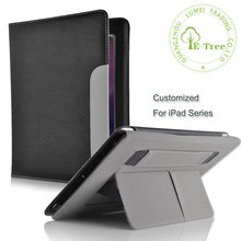 Customized Leather Tablet Cover With Hand Belt Holder Stand Function Smart Case For Apple iPad Mini Pro Air