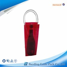 Stay cold drink wine ice cooler plastic thermal pvc bag