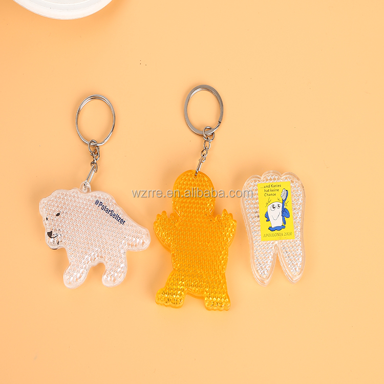 Various Shaped Bottle keychain online shopping letter n keychain