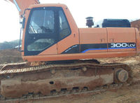 Used excavatot Daewoo S300LC, 2004year, Machinery Korea