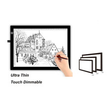 A3 A4 5mm ultra-thin 5V USB rechargeable led drawing tracing copy board