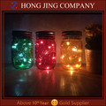 2016 gifts glass jar with solar led lights