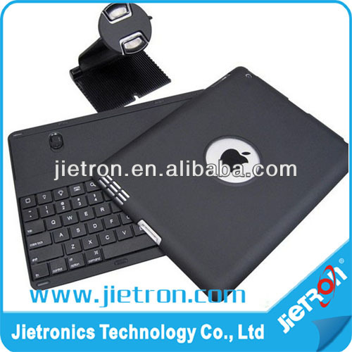 360-Degree Rotating Bluetooth Wireless Key board Case / Stand for iPad 2 & 3