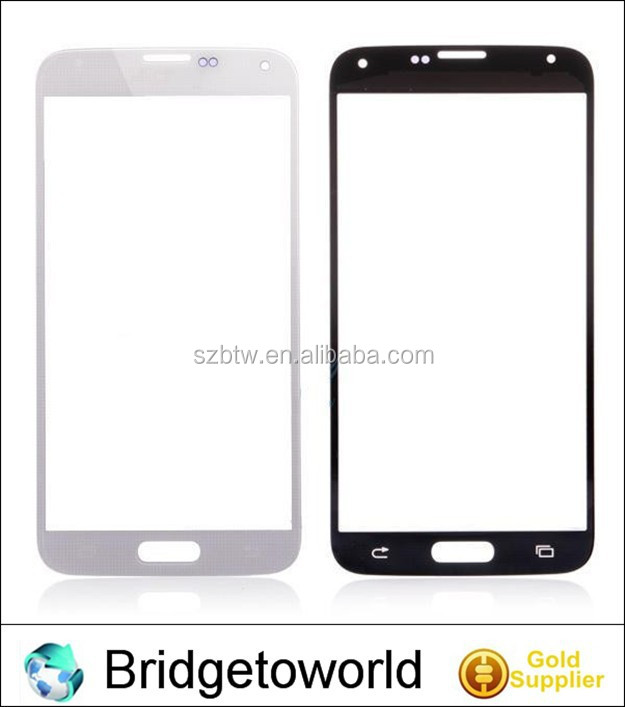 Mobile phone repair parts front glass for samsung galaxy s5