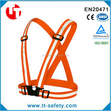 elastic Reflective Belt Vest/Reflective Running Vest/safety belt buckle disjointing