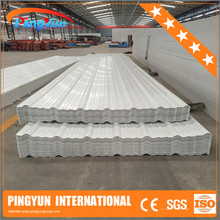 uv resistant plastic roofing sheet/heat insulation pvc roofing tiles/roofing tiles pvc plastic