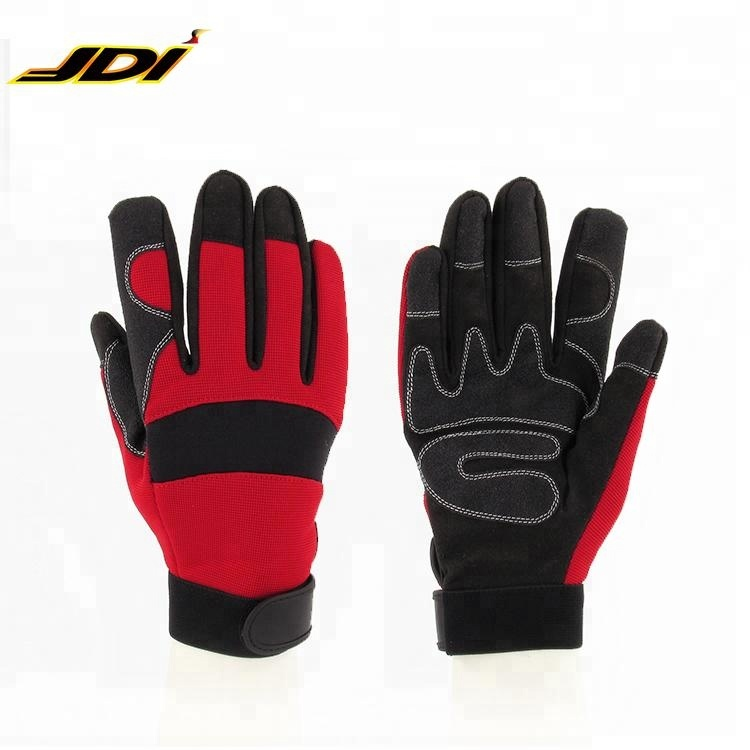 JDI-RW205149 Promotion industrial synthetic leather mechanic hard work <strong>glove</strong>
