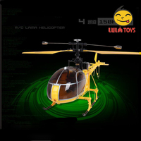 wltoys v915 2.4g 4ch scale lama rc helicopter 2 modes single propeller make rc helicopter blades free durable king rc helicopter