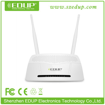 EDUP 802.11n 300Mbps MTK 7620 Wireless Router with Two 5dBi Antennas