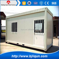 china fashion prefab house container shop and living