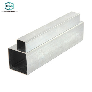 china tianjin unique galvanized thin wall square rectangular hollow section steel pipe tube tubing