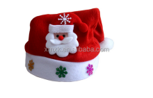 fashion christmas ornament Woven santa claus christmas hat