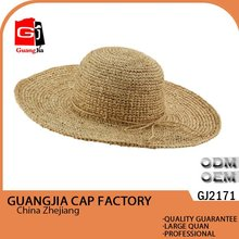 Craft cowboy sombrero straw hat wholesale