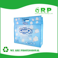 China supplier With PP non woven zipper handle bag