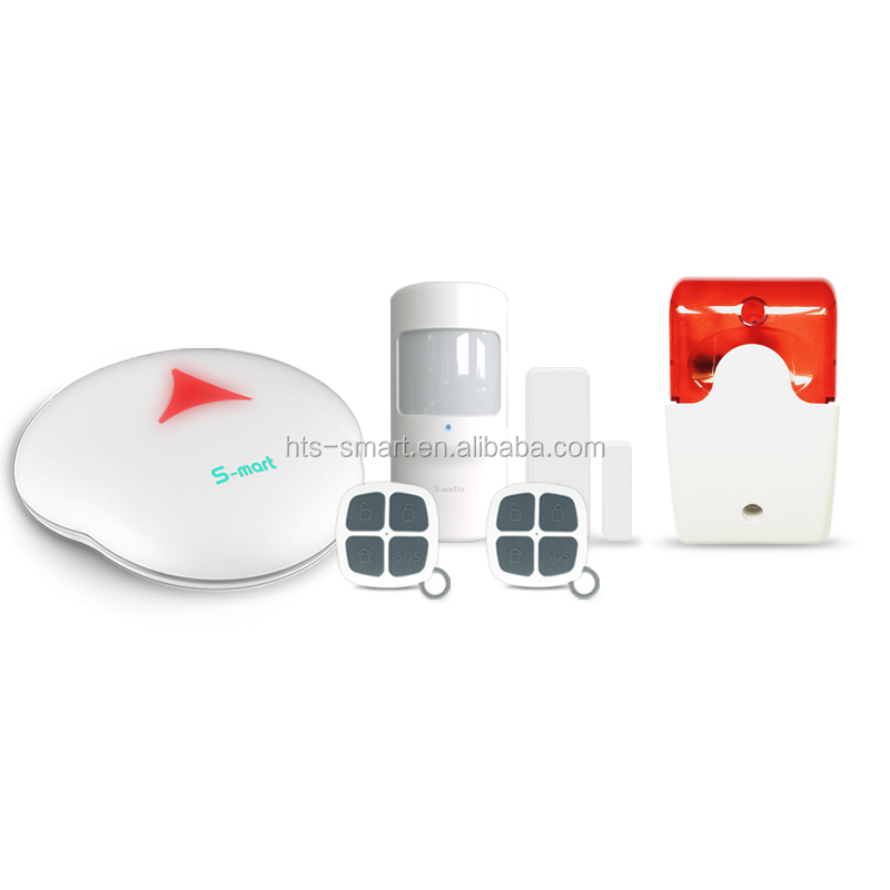 Smart home security WiFi alarm system, wireless home security alarm system WiFi PSTN alarm with cheap price