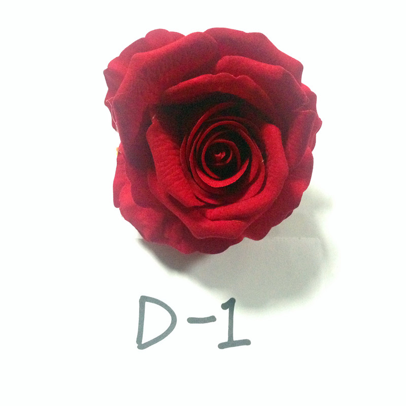 high quality wedding wall 10cm artificial silk velvet rose flower heads