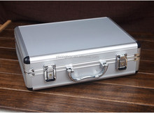 Hard Aluminum clad tool carrying storage cases