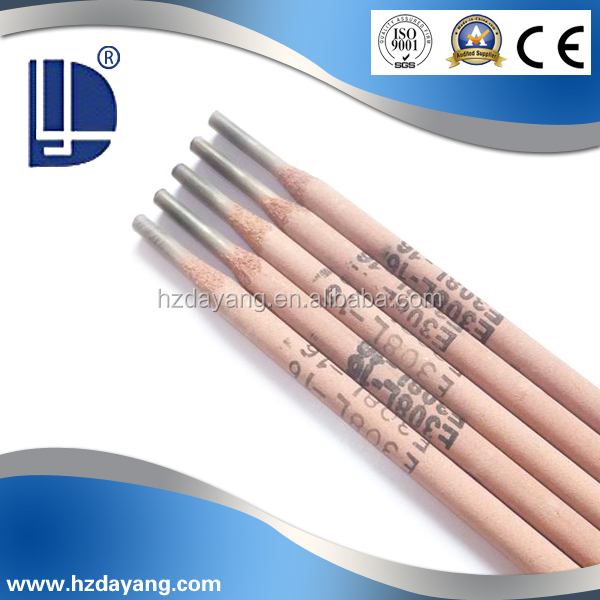 stainless steel electric welding rods E308l-16 china low price products