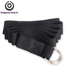 Yoga Exercise Aids 2 D ring Cotton Carry Yoga Stretching Strap