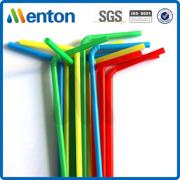 Hot Popular 12mm New Jumbo Bubble Tea Plastic Flexible Drinking Straws