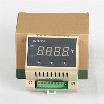 YUYAO CJ XMTL-308 35MM standard slidway intelligent single row 4-LED display 85-242V PID temperature controller