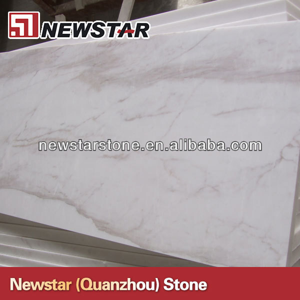 Newstar Polished Volakas Greece White Marble