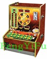 Coin operated Bergmann roulette, game machine, slot amusement arcade game