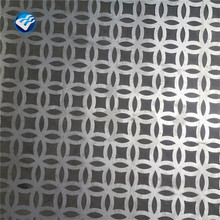 3mm aluminum perforated sheet laser cut screen