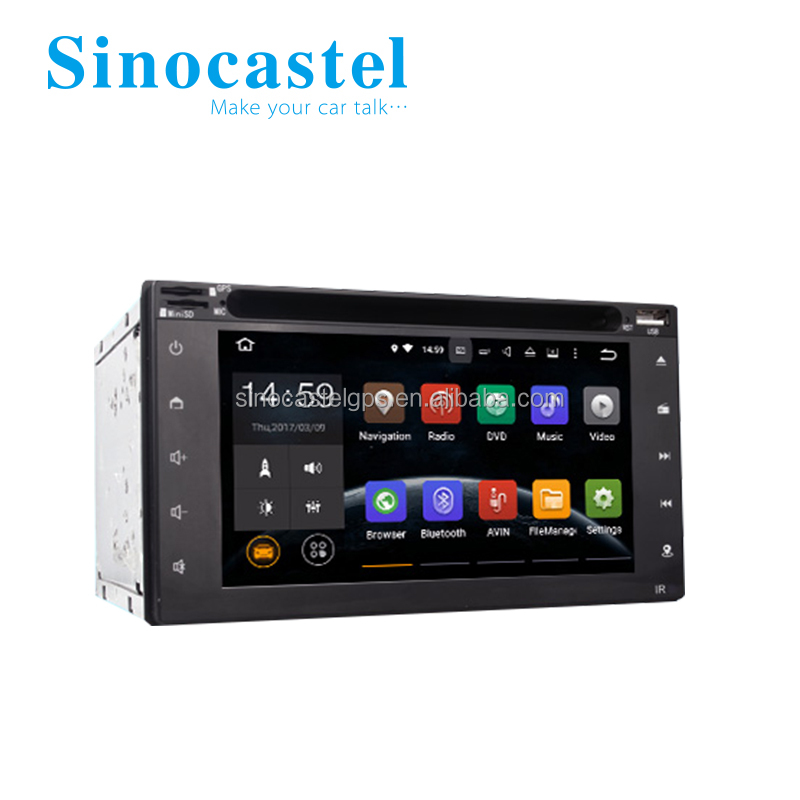 6.2 Inch Android Tablet PC Smart Car Media Player Double Din With DVD CD Disk DVB-T2 For 178*102 mm Dashboard Universal Cars
