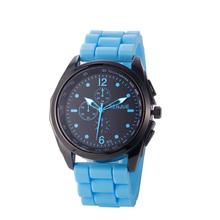 OEM Big dial silicone sports brand men watches outdoor hiking classic wrist watch