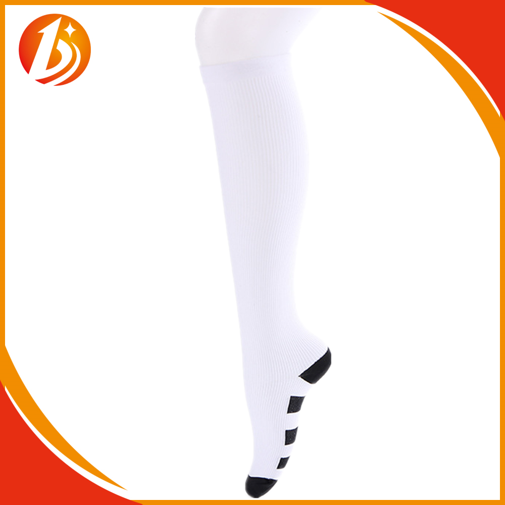 Chic Women Men Leg Support Sports Long Socks Compression Anti-fatigue Stockings