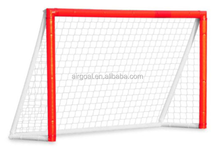 Hockey practice equipment inflatable hockey goal