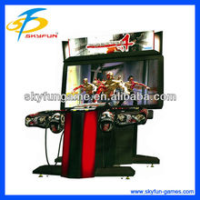 55 inch authentic simulator house of the dead 4 shooting arcade game