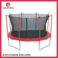CreateFun 10FT cheap used gymnastics equipment trampoline for kids