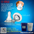 FDA grade injection silicone rubber for Baby nipples