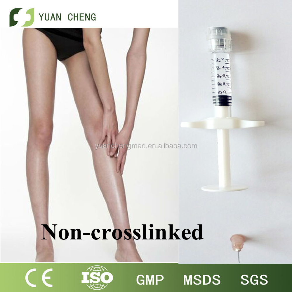 2 016 Healthy injection products/ Hyaluronic acid for knee/uncrosslinked gel 2ml