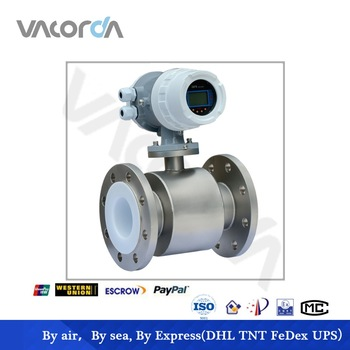 thread connection Electromagnetic flowmeter ,acid hypochlorite flowmeter