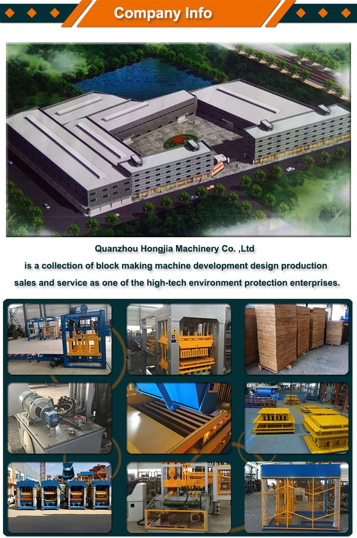 Automatique hydraulique presse moulage bloc faisant machines