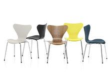 Option colors restaurant furniture Jacobsen series 7 chair