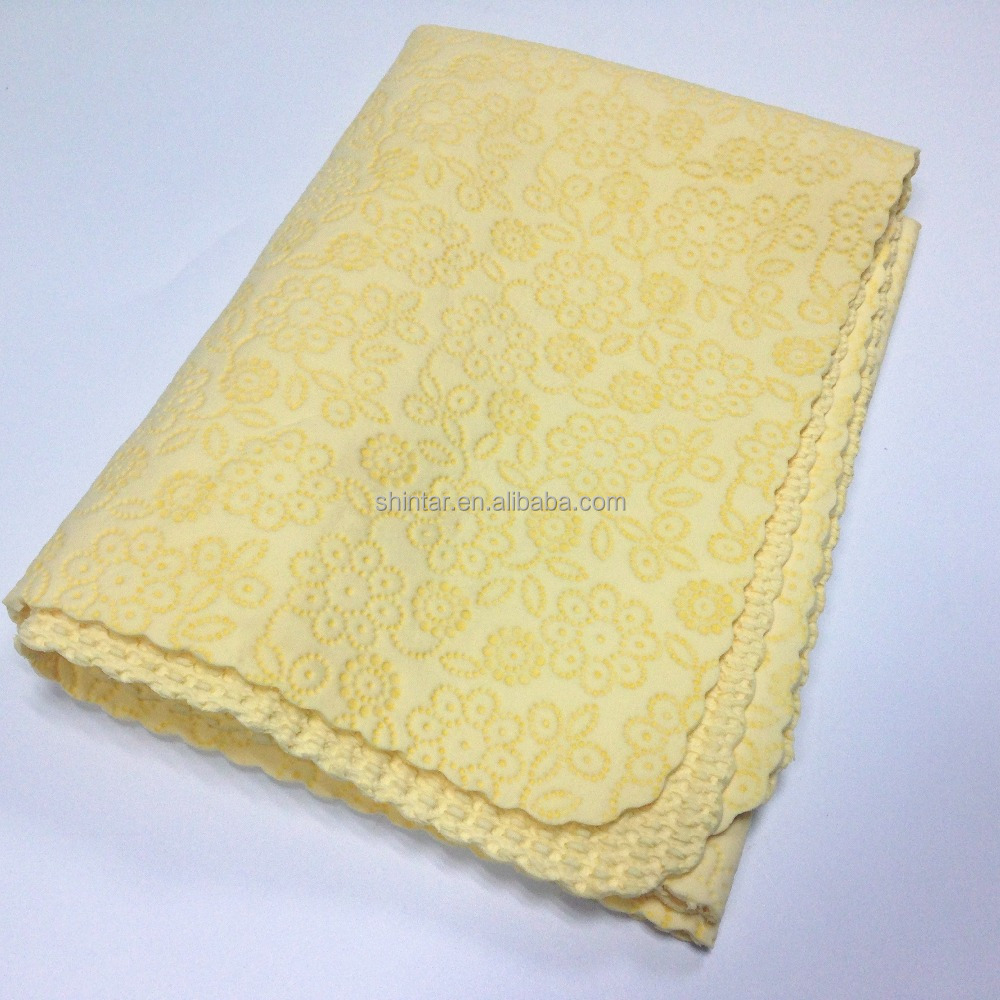 3D carve pattern beauty pva towel