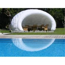 Outdoor Party And Golf Activity Large White Inflatable Dome Tent For Sale