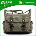 Stock Top Quality Mens Canvas Messenger Bag