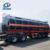 AOTONG 3 axles 45000 Liters carbon steel petrol gasoline oil fuel tanker trailer for sale
