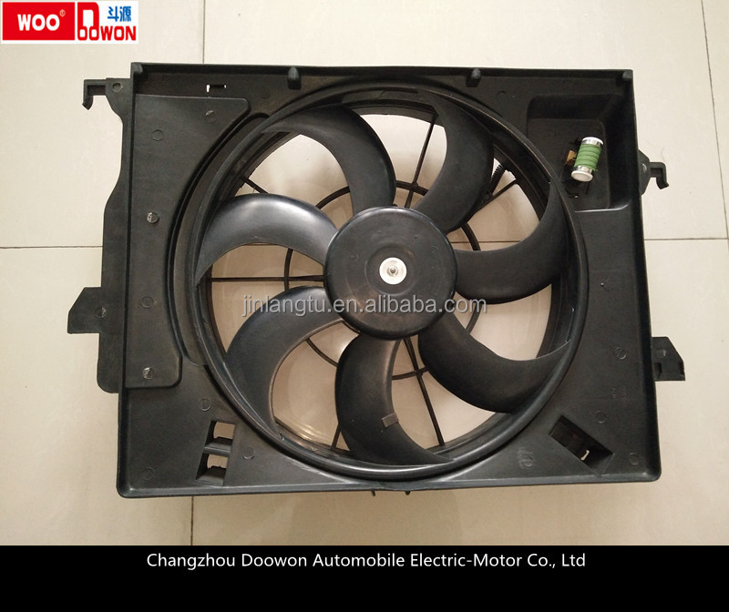 car fan/NEW RIO 12V DC cooling fan/RIO electrical fan/auto parts/auto body parts/OEM:25380-1R050