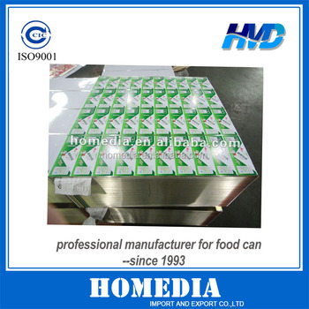 Color Printed Tin Plate