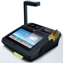 JEPOWER JP762A 3G SIM Card Android Tablet POS Terminal with Printer and NFC RFID Reader